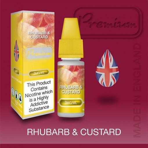 Eco Vape Rhubarb & Custard