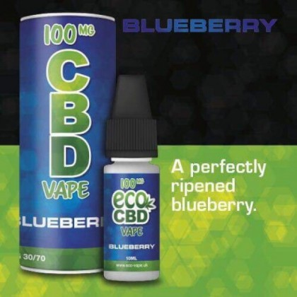 Eco Vape CBD Vape Blueberry