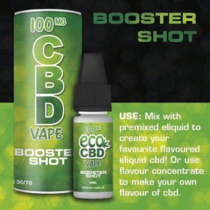 Eco Vape CBD Vape - Booster Shot