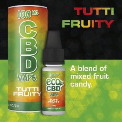 Eco Vape CBD Vape Tutti Fruity