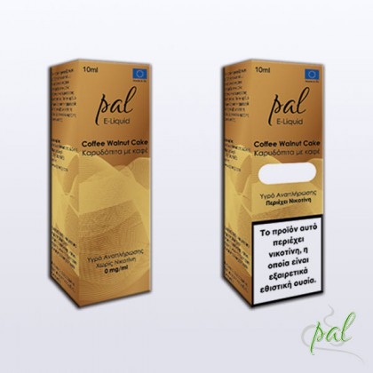 Pal e-Liquid Coffee Walnut Cake