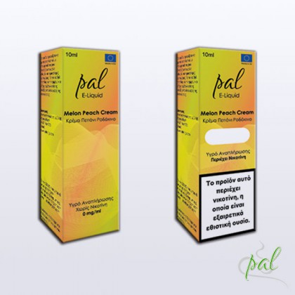 Pal e-Liquid Melon Peach Cream