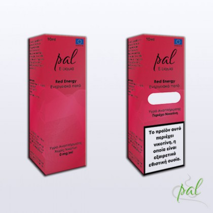 Pal e-Liquid Red Energy