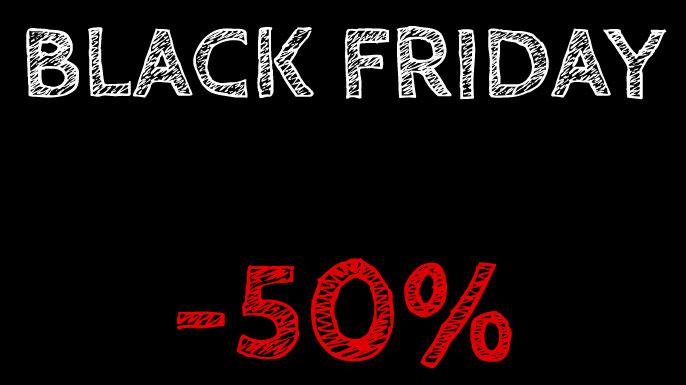 Black Friday 2019 - Έκπτωση 50% σε όλα τα προϊόντα ατμίσματος